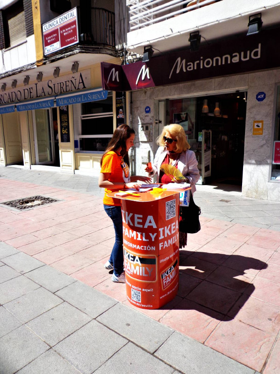 Streetmarketing Gloria Duran